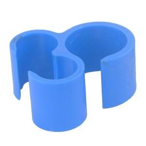 Σφιγκτήρας στερέωσης για διπλό λάστιχο γάλακτος.