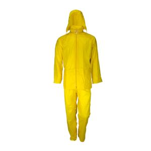 Αδιάβροχο κοστούμι κίτρινου χρώματος