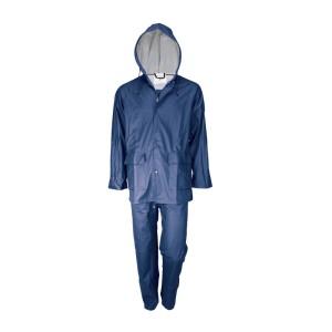 Αδιάβροχο κοστούμι μπλε χρώματος